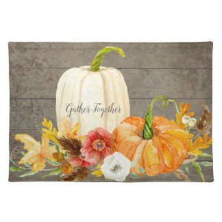 Harvest Gather Together Family Thanksgiving Decor Placemat