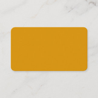 Harvest Gold Rounded Business Card