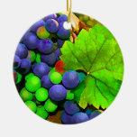 Harvest Grapes Christmas Ornament