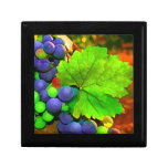 Harvest Grapes Jewelry Boxes