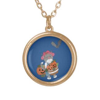 Harvest Helper Gold Plated Necklace