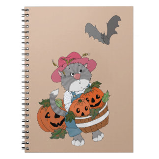 Harvest Helper Spiral Notebook