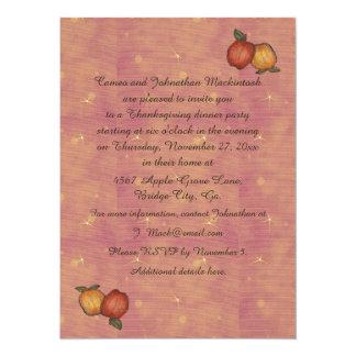 Harvest Horseshoe Thanksgiving Downturned Card