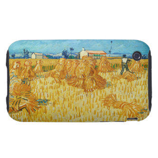 Harvest in Provence by Vincent Van Gogh Tough iPhone 3 Case