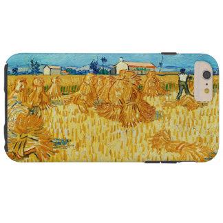 Harvest in Provence by Vincent Van Gogh Tough iPhone 6 Plus Case