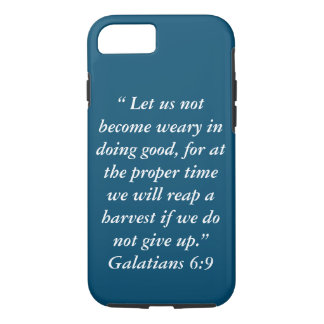 """""""Harvest"""" Iphone 7 Tough Cell Phone Case"""