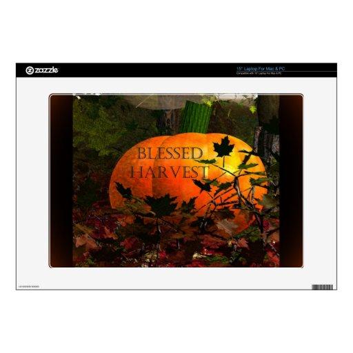Harvest.jpg bendecido portátil calcomanía