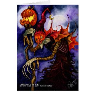 Harvest King Greeting Card