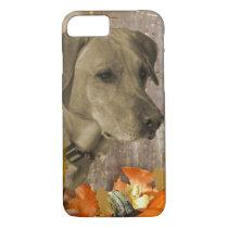 Harvest Labrador Retriever iPhone 8/7 Case