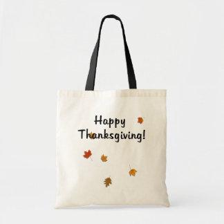 Harvest Leaves Budget Tote Bag