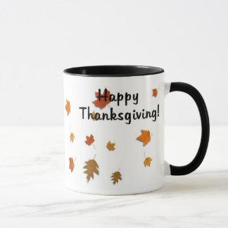 Harvest Leaves Mug