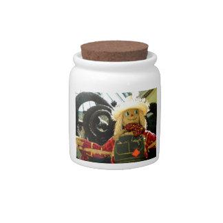 Harvest Man Candy Jar