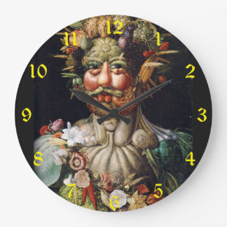 Harvest Man Large Clock