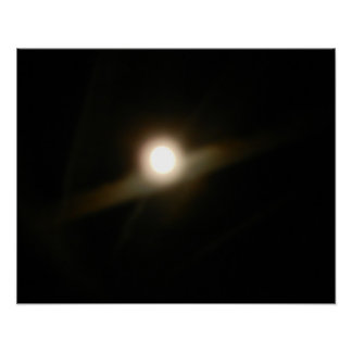 HARVEST MOON AND JET STREAMS poster