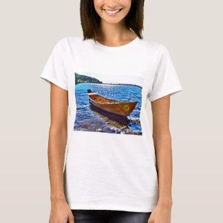 Harvest Moon Boat on Grand Manan Island T-Shirt