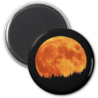 Harvest-Moon 2 Inch Round Magnet