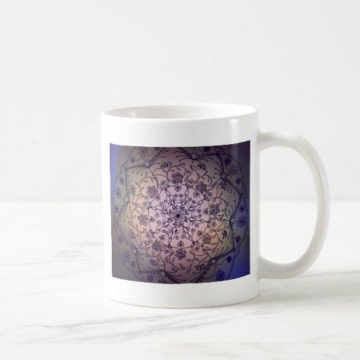 Harvest Moon Mandala - Fall Sky Coffee Mug
