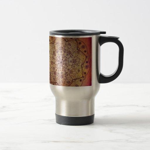 Harvest Moon Mandala - Jewel Tones Coffee Mug