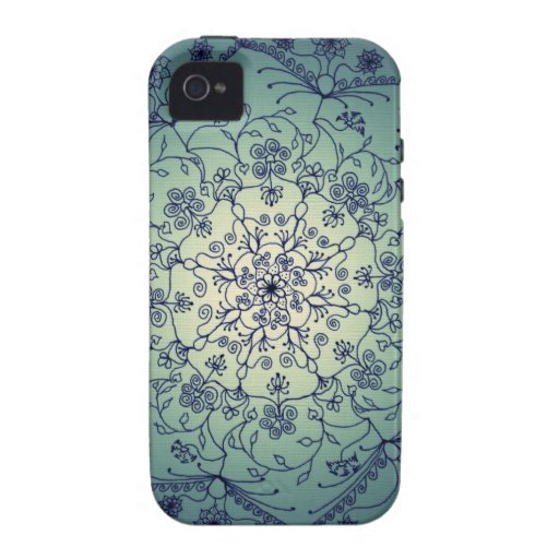 Harvest Moon Mandala - Twilight Case For The iPhone 4