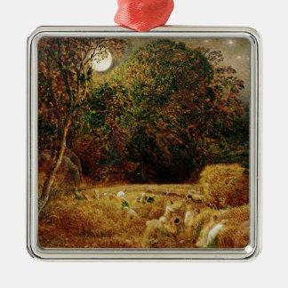 Harvest Moon Metal Ornament