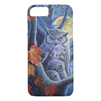 Harvest Moon Owls iPhone 8/7 Case
