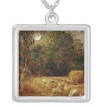 Harvest Moon Silver Plated Necklace