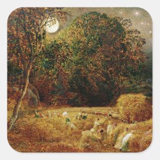 Harvest Moon Square Sticker