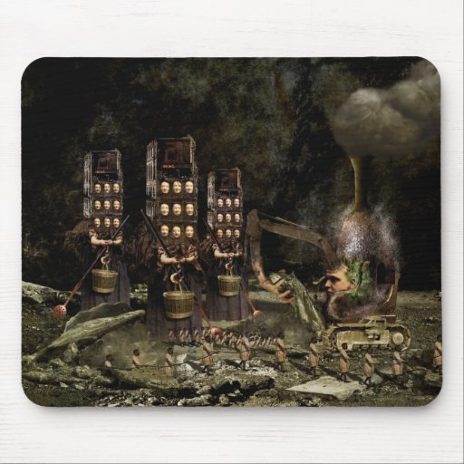Harvest Mouse Pad