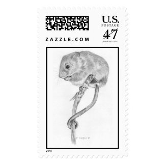 Harvest Mouse Postage