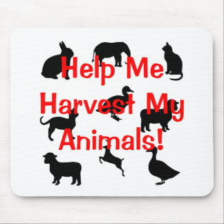 harvest my animals mouse pad
