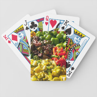 Harvest of Chilies Bicycle Playing Cards