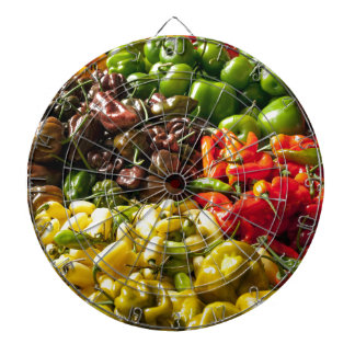 Harvest of Chilies Dartboards