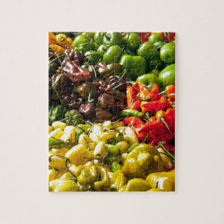 Harvest of Chilies Jigsaw Puzzle