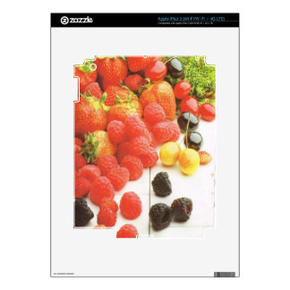 Harvest of summer fruits decal for iPad 3