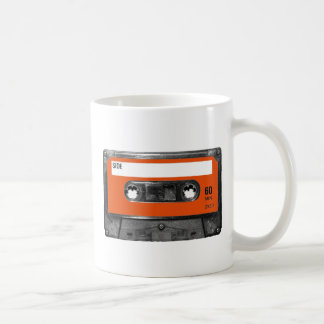 Harvest Orange Cassette Coffee Mug