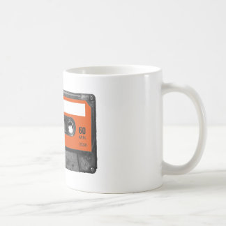 Harvest Orange Cassette Coffee Mug