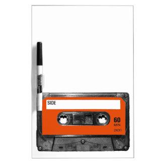 Harvest Orange Cassette Dry Erase Whiteboard
