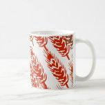 harvest pattern with wheat mug