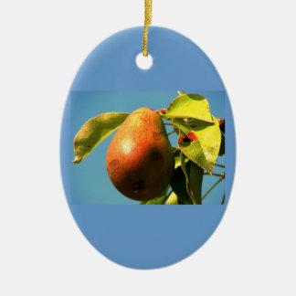 Harvest Pear Ornament