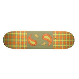 Harvest Plaid & Paisley Skate Decks