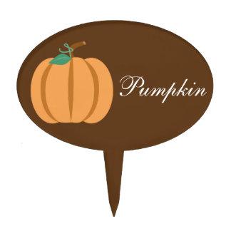 Harvest Pumpkin Custom Cake Topper