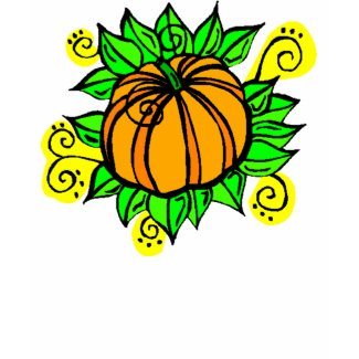 Harvest Pumpkin T-Shirt shirt