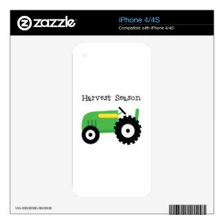 Harvest Season iPhone 4S Decal