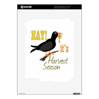 Harvest Season Decals For iPad 2