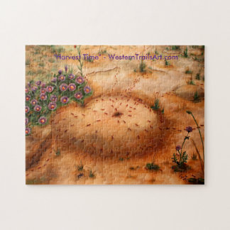 """""""Harvest Time"""" - 11"""" x 14"""" Puzzle with box"""
