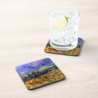Harvest Time at the Vineyard Drink Coaster