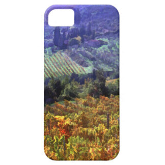 Harvest Time at the Vineyard iPhone SE/5/5s Case