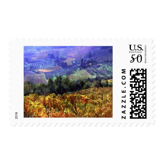 Harvest Time at the Vineyard Postage