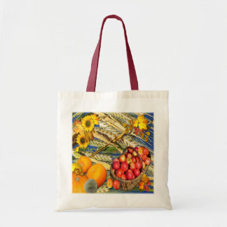 HARVEST TIME ~ Budget Tote