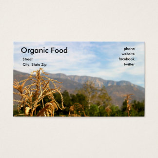 Harvest Time Business Card